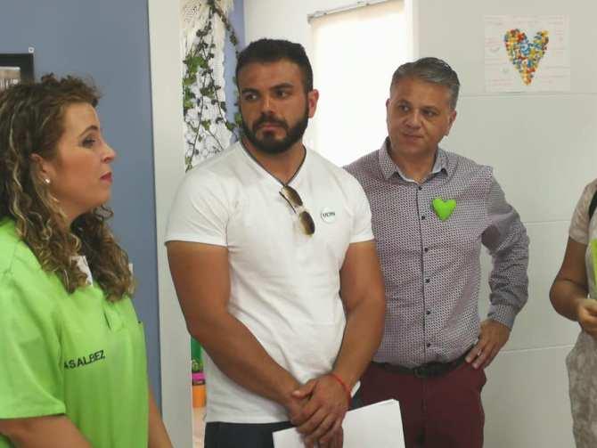 UCIN Rincón de la Victoria visita las instalaciones de Asalbez con el compromiso de desarrollar el Plan Andaluz contra el Alzheimer
