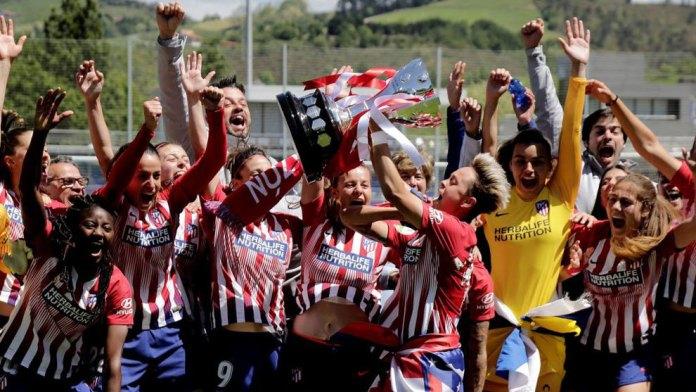 El Atlético de Madrid Femenino gana su tercera Liga