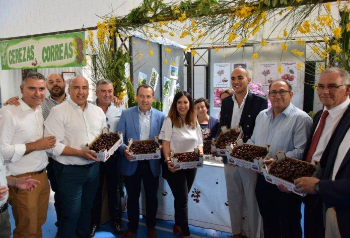 El PSOE destaca que las cerezas de Alfarnate se han consolidado como un referente gastronómico y turístico