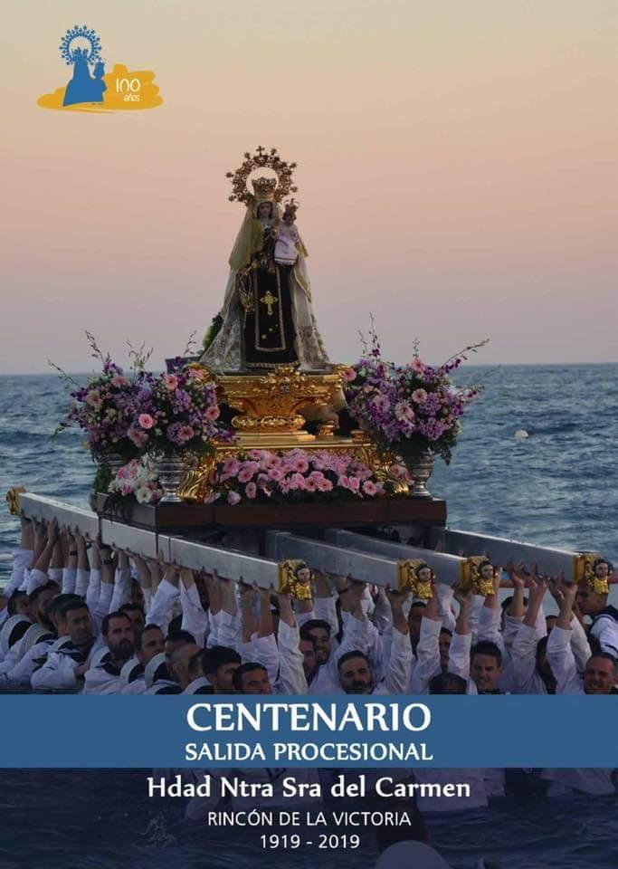 Rincón de la Victoria celebra el centenario de la Hermandad de Nuestra Señora del Carmen con una salida procesional extraordinaria el próximo sábado