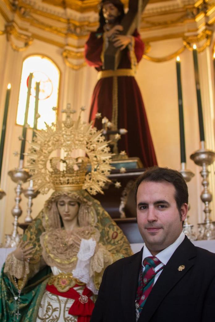 Alberto Santacruz, nuevo hermano mayor de la Archicofradía de El Pobre y La Esperanza