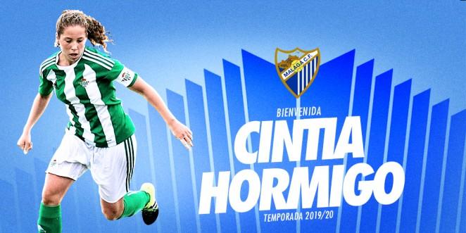 Cintia Hormigo, talento para la banda derecha del Málaga CF Femenino