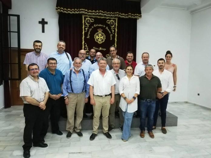 Configurada la nueva Junta de la Agrupación de Cofradías de Semana Santa de Vélez-Málaga