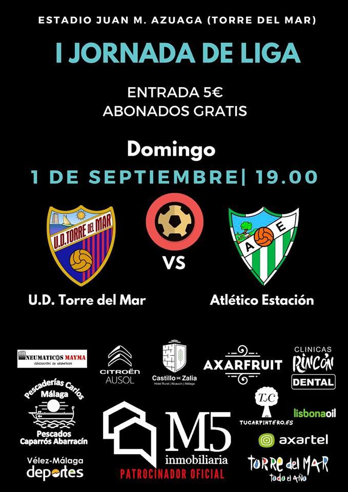 U.D. Torre del Mar vs Atlético Estación