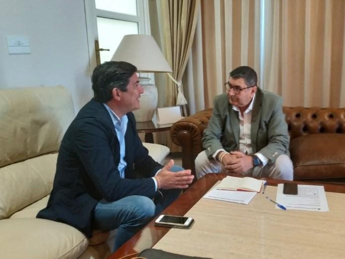 Moreno Ferrer propone crear una comisión para impulsar la construcción y rehabilitación de viviendas en Vélez-Málaga