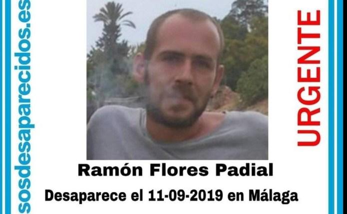 Solicitan colaboración ciudadana para localizar a Ramón Flores Padial, desaparecido de 31 años