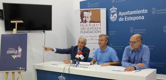 Ayuntamiento y la Fundación Manuel Alcántara presentan el I Premio de Novela Viudad de Estepona