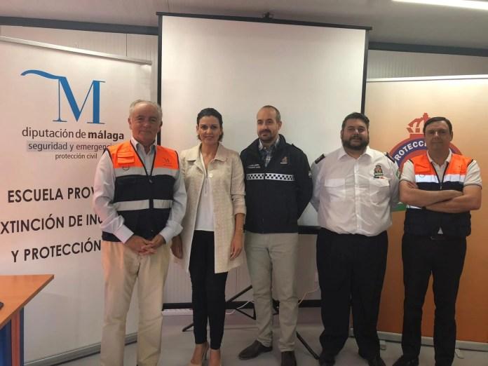 Protección Civil imparte un curso de Formación Básica en Rincón de la Victoria