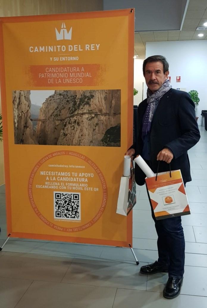 """El Club Running Playas de Torre del Mar acude a la presentación de la Candidatura del """"Caminito del Rey y su Entorno a Patrimonio Mundial de la UNESCO"""""""