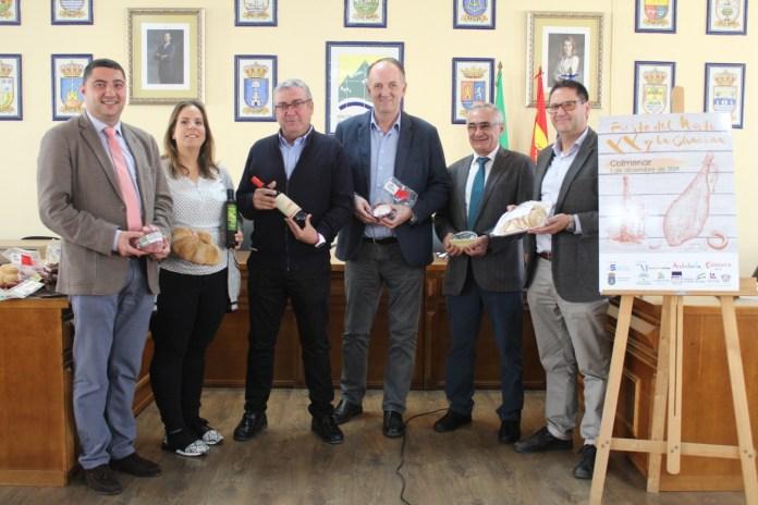 La Fiesta del Mosto y la Chacina de Colmenar cumple dos décadas ofreciendo sus productos artesanales de cara a la Navidad