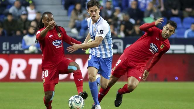 El Málaga CF empata ante el CF Fuenlabrada en La Rosaleda (0-0)