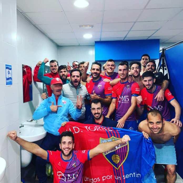 La U.D. Torre del Mar gana frente al Athletic Fuengirola (2–4) y suma 3 puntos