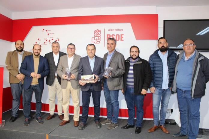 El PSOE presenta enmiendas al presupuesto andaluz para convertir la uva pasa de la Axarquía en motor económico y turístico de la comarca