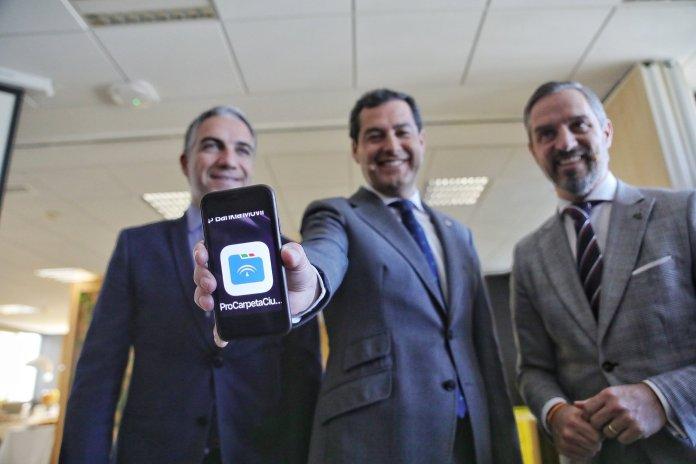 Moreno presenta la 'revolución digital' que hará de la Junta una Administración más eficaz, eficiente, ágil y sencilla para los andaluces