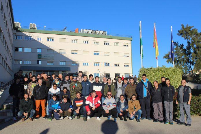 Alumnado de los Grados Medio y Superior de Electricidad del IES 'Juan de la Cierva' de Vélez-Málaga visitan el Hospital de La Axarquía