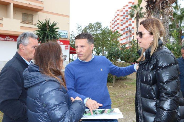 Comienza la rehabilitación de la Avenida El Faro de Torrox Costa