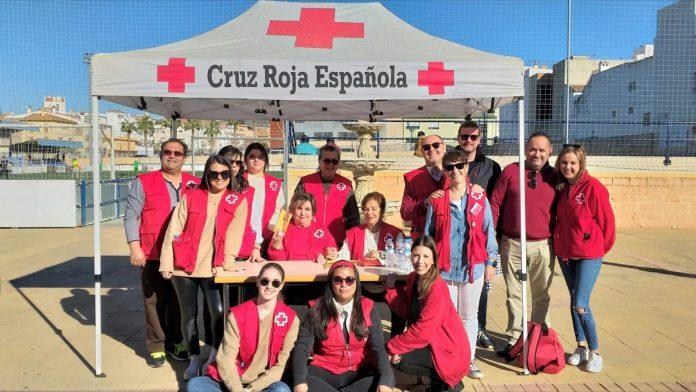 Empate a cero en el partido solidario del Vélez C.F. a beneficio de Cruz Roja
