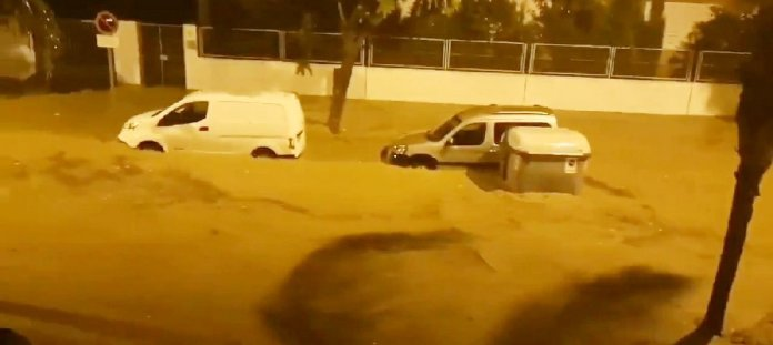 Activado el Plan de Emergencias ante el Riesgo de Inundaciones en situación 1 en Málaga por las lluvias