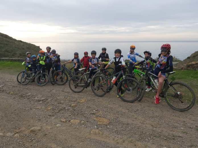 Fin de semana de ruta para la Escuela de Ciclismo de la Axarquía