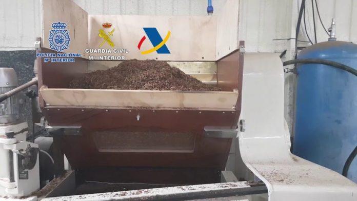Desarticulada una organización dedicada a la fabricación clandestina de cajetillas de tabaco de reconocidas marcas
