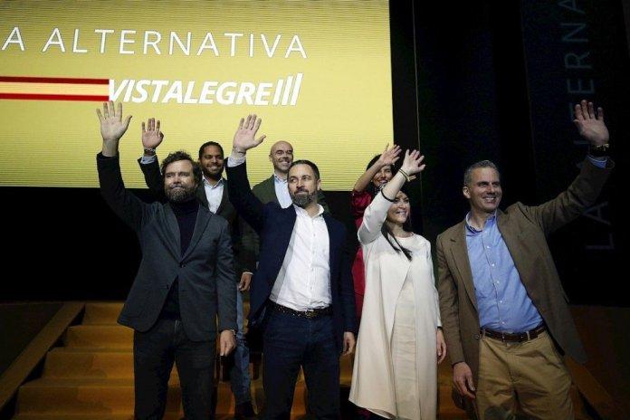 Santiago Abascal y Macarena Olona, nuevos positivos por coronavirus en Vox