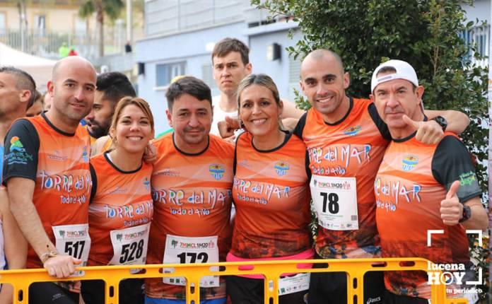 Notable actuación del Playas de Torre del Mar en la VII Media Maratón de Lucena