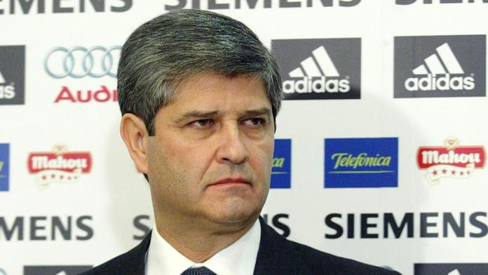 El expresidente del Real Madrid, Fernando Martín, ingresado por coronavirus