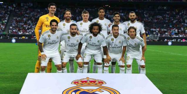 El Real Madrid, en cuarentena por coronavirus