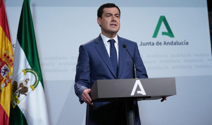 Moreno pide cautela frente al coronavirus y lamenta que Andalucía no haya recibido los test prometidos por el Ministerio