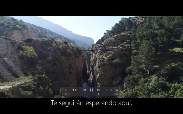 El Caminito del Rey lanza un vídeo para agradecer a sus visitantes la lucha contra la pandemia y reforzar su candidatura como Patrimonio de la Unesco