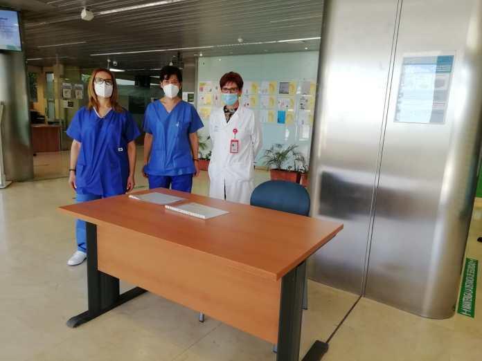 El Área Sanitaria Málaga-Axarquía establece medidas de prevención frente al Covid 19 en sus accesos
