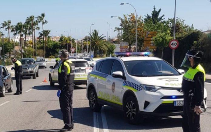 La Policía Local de Nerja tramita en la última semana 14 denuncias por saltarse el confinamiento