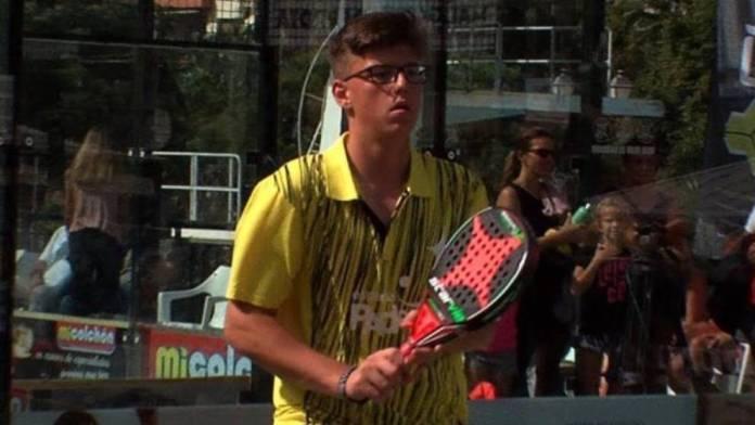 Muere la joven promesa del pádel Álex Gama a los 17 años