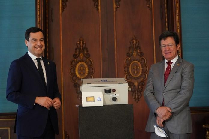 Andalucía firma un Protocolo de colaboración con Ecuador que prevé la cesión de respiradores andaluces para combatir el Covid-19