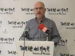 El primer teniente de alcalde y concejal de Turismo del Ayuntamiento de Vélez-Málaga, Jesús Pérez Atencia.