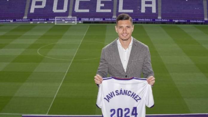 El Real Madrid traspasa a Javi Sánchez al Real Valladolid