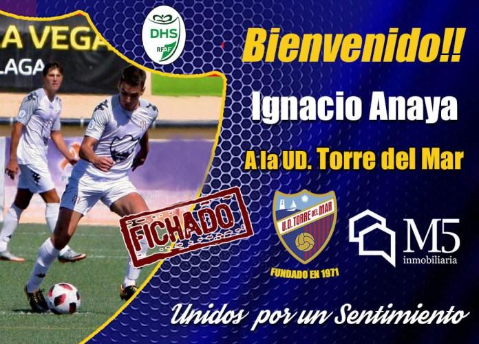 Ignacio Anaya, nuevo jugador del la UD Torre del Mar