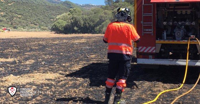 Declarado otro incendio en Alcaucín