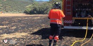 Además del incendio de la localidad axárquica de Colmenar también se ha declarado un incendio en Alcaucín.