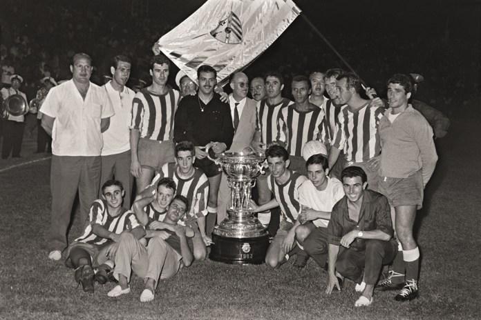 Año 1963: El CD Málaga ganó su primer Trofeo Costa del Sol derrotando (3-1) al Real Madrid de Alfredo Di Stéfano