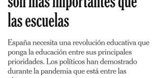 """Un artículo del prestigioso diario neoyorquino titulado """"El país donde las discotecas son más importantes que las escuelas"""" revoluciona las redes por su crítica implacable a la gestión española de la pandemia."""