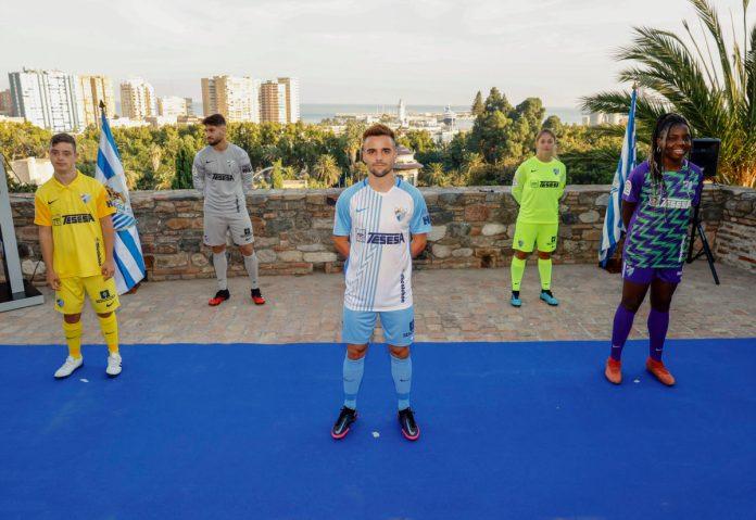 Nueva temporada y nueva equipación para el Málaga C.F.