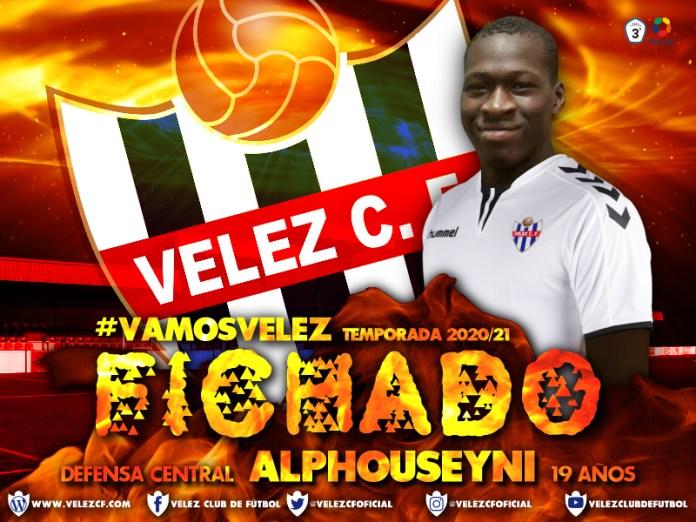 El Vélez CF hace oficial el fichaje del defensa central Alphouseyni