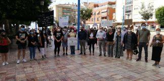 PSOE Málaga y JSA Málaga apoyo a movilizaciones sobre tala de árboles de La Cala del Moral.