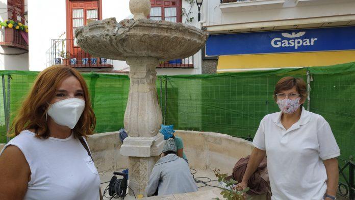 Vélez-Málaga inicia los trabajos de restauración de la fuente de San Francisco