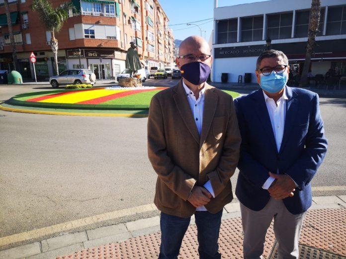 El Ayuntamiento de Vélez-Málaga acomete mejoras en la plaza Reyes Católicos y en la glorieta homenaje a la Guardia Civil