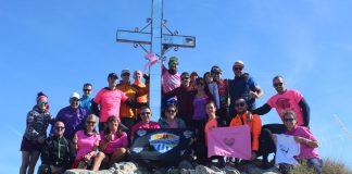 Subida al Pico del Cielo con motivo del Día del Cáncer de Mama