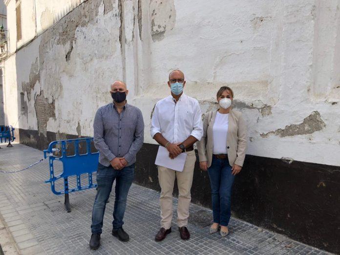 El PP de Vélez-Málaga pide al Gobierno que actúe de oficio y aborde una actuación de estabilización del convento de Las Claras