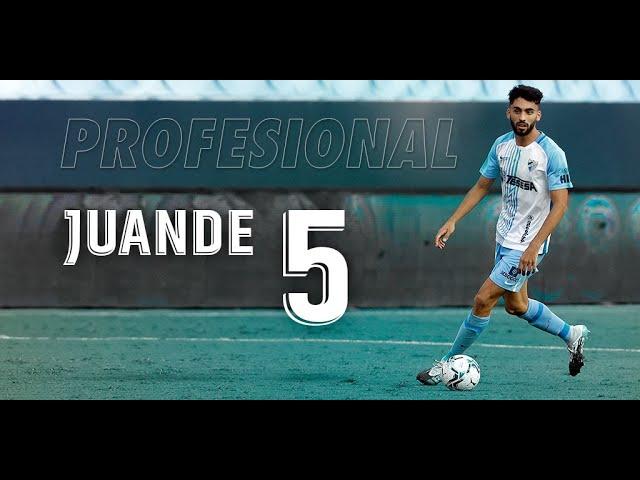 'Juande' ya es jugador de la primera plantilla del Málaga CF