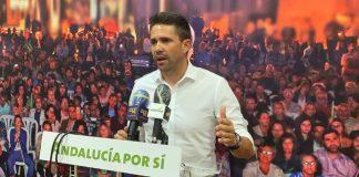 El portavoz de Andalucía Por Sí, José Pino.